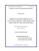 Nghiên cứu đánh giá hiệu quả của cắt túi thừa nội soi và điều trị bảo tồn trong viêm túi thừa đại tràng phải / Lê Huy Lưu ; Người hướng dẫn khoa học : Nguyễn Văn Hải, Nguyễn Việt Thành
