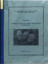 Qui trình sản xuất xoài cát theo tiêu chuẩn GLOBALGAP