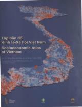 Tập bản đồ kinh tế xã hội Việt Nam mô tả tổng điều tra dân số và nhà ở năm 1999 =Socioeconomic Atlas of Vietnam a description of the 1999 population and housing census