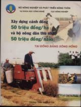 Xây dựng cánh đồng 50 triệu đồng/ha và hộ nông dân thu nhập 50 triệu đồng/năm tại Đồng bằng sông Hồng