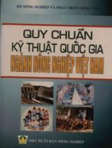 Quy chuẩn kỹ thuật quốc gia ngành nông nghiệp Việt Nam