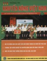 Thông tin khuyến nông Việt Nam. Số 06/2013