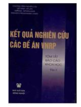 Kết quả nghiên cứu các đề án VNRP. T. 3, Tóm tắt báo cáo khoa học