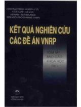 Kết quả nghiên cứu các đề án VNRP. T. 2, Tóm tắt báo cáo khoa học
