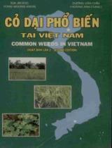 Cỏ dại phổ biến tại Việt Nam = Common weeds in Vietnam
