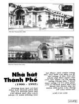 Nhà hát Thành phố (1900-1995)/ Đỗ Văn Anh