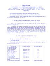 Thông tư số 56/2003/TT-BVHTT ngày 16/09/2003 hướng dẫn chi tiết về điều kiện thành lập thư viện và thủ tục đăng ký hoạt động thư viện