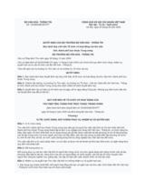 Quyết định số 16/2005/QĐ-BVHTT ngày 04/05/2005, ban hành Quy chế mẫu Tổ chức và hoạt động của thư viện tỉnh, thành phố trực thuộc Trung ương