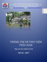 Tập san Thông tin và Thư viện phía Nam : lưu hành nội bộ / Bùi Xuân Đức chủ biên