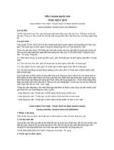 TIÊU CHUẨN QUỐC GIA TCVN 10274: 2013 HOẠT ĐỘNG THƯ VIỆN - THUẬT NGỮ VÀ ĐỊNH NGHĨA CHUNG