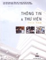 Tập san Thông tin và Thư viện phía Nam : lưu hành nội bộ / Nguyễn Thị Bắc chủ biên